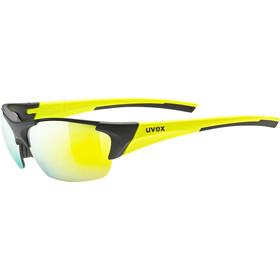 UVEX Blaze III Bril, black matt/yellow/mirror yellow